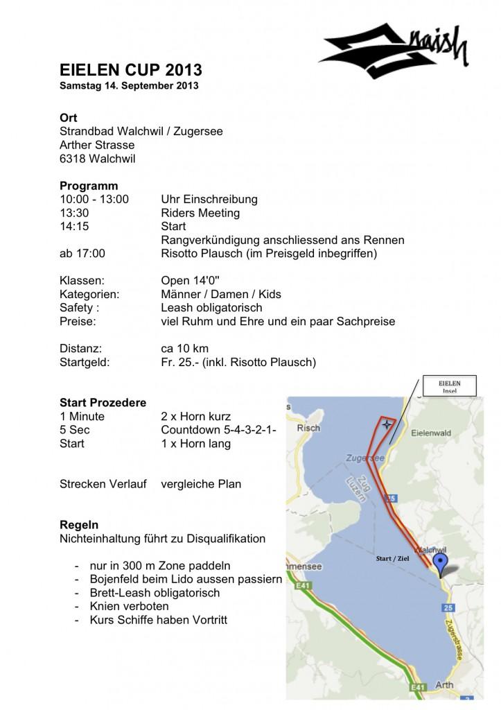 Eielen Cup 2013 Programm