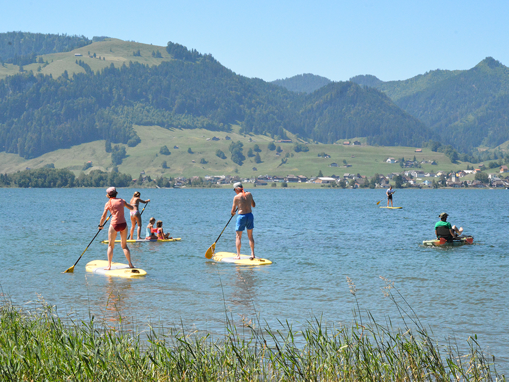 SUP center opening image_Sihlsee